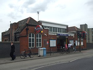 Neasden tube station - Image: Neasden station building 2012