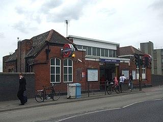 Neasden tube station London Underground station
