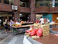 Neighbors Prepareing Ghost Festival in Central Court 20120825.JPG