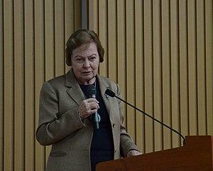 Nel Noddings - Nel Noddings lecturing, 2011.