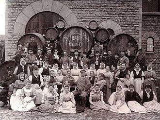 1888 in Sweden - Neumüllers bryggeri 1888