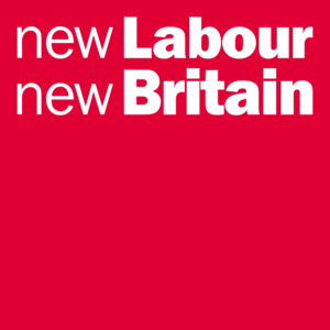 Thatcherism - Image: New Labour new Britain logo