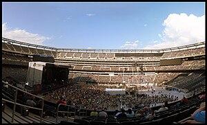 Bon Jovi concert at the New Meadowlands Stadiu...