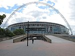 New Wembley Stadium and Arch from Olympic Way - geograph.org.uk - 2406320.jpg