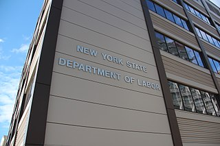 New York State Department of Labor Governmental agency enforcing labor law and administering unemployment benefits