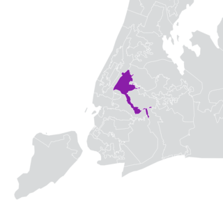 New Yorks 12th State Senate district American legislative district