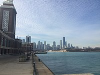 New of Chicago from Navy Pier, Chicago, IL 11-24-15.jpg