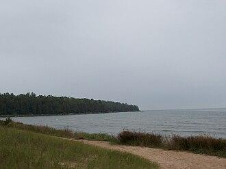 Newport State Park - Image: Newport State Park Beach