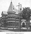 Newport Library ca1899 Vermont.jpg