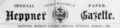 Newspaper Logo Heppner Gazette 1892.png