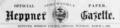 Newspaper Logo Heppner Gazette 1892.png