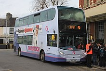 Newton Abbot station - First 33667 (SN12AEK).jpg