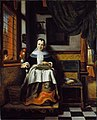 Nicolaes Maes - The virtuous woman.jpg