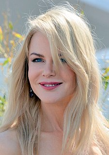 Nicole Kidman Australian actress and producer