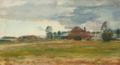 Niels Hansen - Det gamle teglværk paa Lyngbyvejen - 1902.png