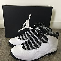 871113b563a Nike Air Jordan X, (Steel Colorway)