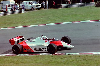 1982 British Grand Prix - Niki Lauda won the race for McLaren.