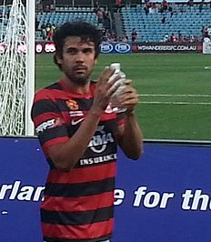 Nikolai Topor Stanley Post Game At Parramatta Stadium.jpg