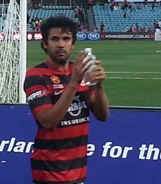 Nikolai Topor-Stanley - Topor-Stanley after a match with Western Sydney Wanderers at Pirtek Stadium