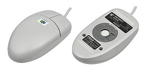 Mario Artist - The Paint Studio package includes the Nintendo 64 mouse.