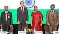 Nirmala Sitharaman and the Minister of Industry and Trade of the Russian Federation, Mr. Denis Manturov, at the International Engineering Sourcing Show -IESS VI, in Chennai.jpg