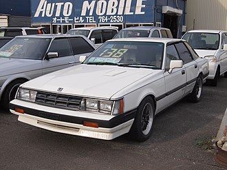 Nissan Leopard - Nissan Leopard TR-X Turbo ZGX (facelifted version)