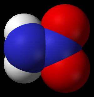 Nitramide - Image: Nitramide 3D vd W
