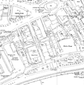 Norfolk Street and Howard Street, Ordnance Survey map 1950s.png