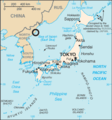 North Korea launch site in Sea of Japan map - East Sea parentheses.png