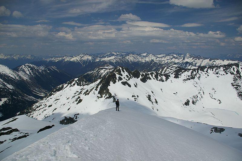 File:North Ridge of Mount Rohr.jpg
