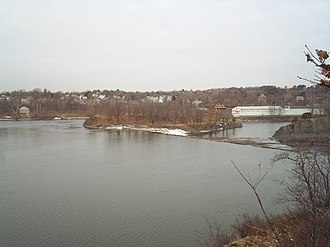 Sprouts of the Mohawk River - Fourth, or North, Branch of the Mohawk River surrounding Bock Island