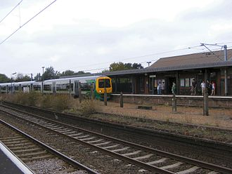 Northfield, Birmingham - Northfield railway station – opened in 1870