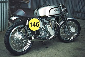 Norton Manx - 1954 Norton Manx