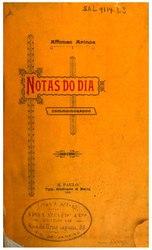 Afonso Arinos: Notas do dia