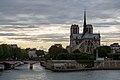 Notre Dame de Paris at dusk.jpg