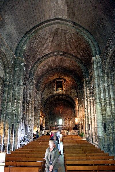 The church Notre Dame de la Mer in Saintes-Maries-de-la-Mer (France).