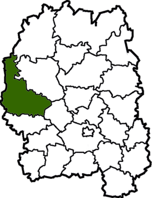Novohrad-Volynskyi Raion - Image: Novograd Volynskyi Raion