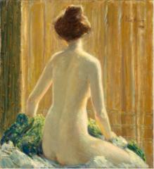 Nude Seated