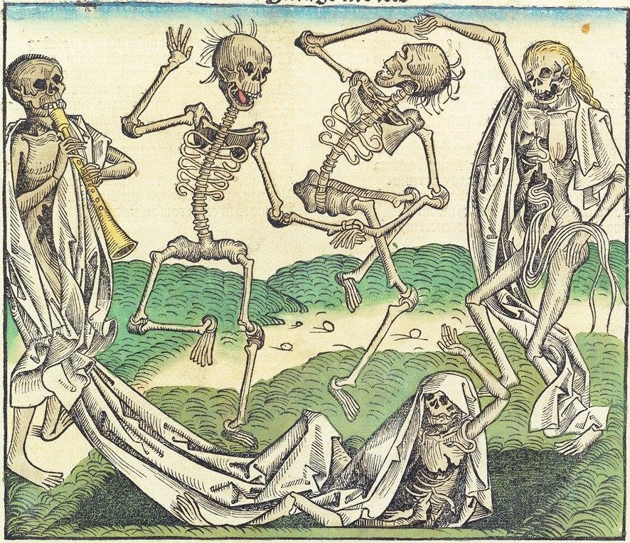 Nuremberg chronicles f 264r (imago mortis)