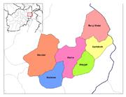 Nurestan districts