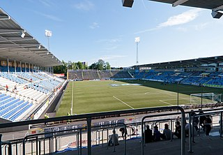 Nya Parken sports ground in Norrköping,Sweden