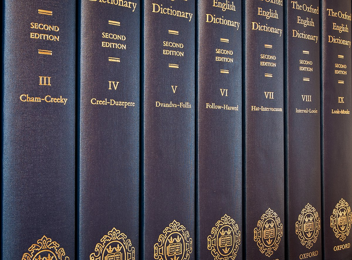 Oxford English Dictionary - Wikipedia