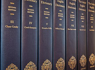 <i>Oxford English Dictionary</i> Premier historical dictionary of the English language