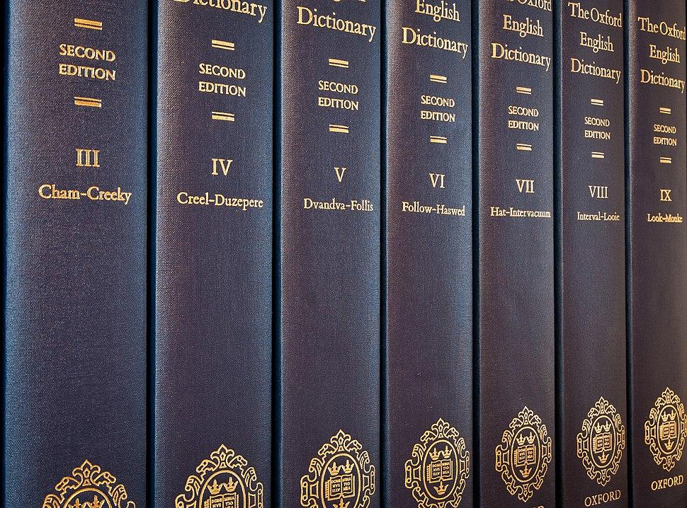 OED2 volumes