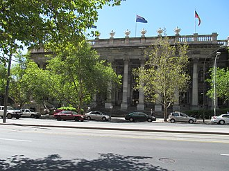 Liberal Movement (Australia) - Parliament House in Adelaide