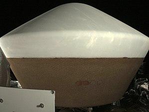 OSIRIS-REx - Sample return capsule as seen by StowCam