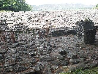 Ulupo Heiau State Historic Site - Image: Oahu Kailua Ulupoheiau top