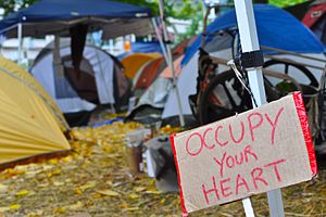 Occupy Portland, October 21, 2011