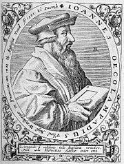 Giovanni Ecolampadio