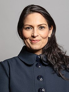 Official portrait of Rt Hon Priti Patel MP crop 2.jpg
